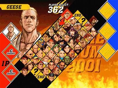 Capcom Snk Screen Millennium 2001 Mark Arcade