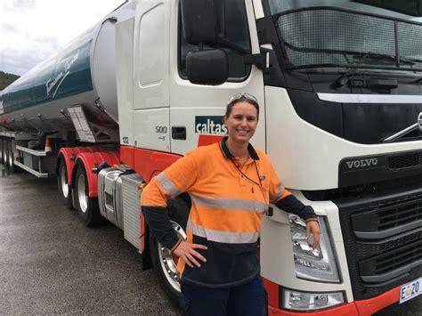 female truck driver  north west  represent australia