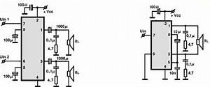 tda2822 audio ic electronic circuits tv schematics audio With tda2822 datasheet dual power amplifiers
