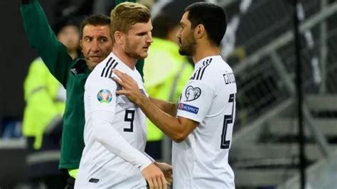 وتم تأجيل مباراة المنتخب الألماني أمام نظيره. منتخب ألمانيا يستعيد فيرنر وجوندوجان أمام إستونيا