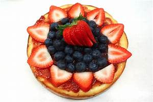 Dance on Flour: Strawberry & Blueberry Cheesecake - Part 2
