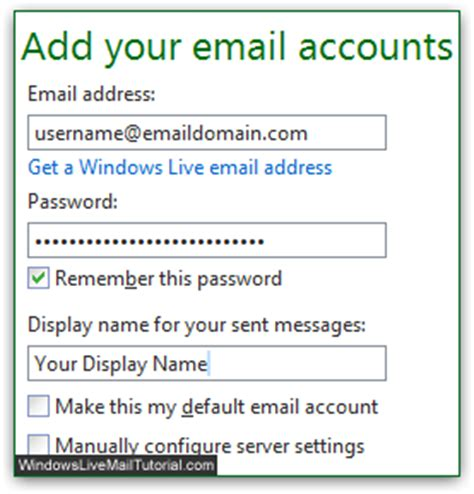 how do i add an email account to my iphone add email account to windows live mail pop3 imap