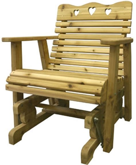 glider chair woodworking plan