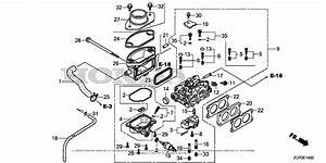 Honda Engines Gx630rh Qxf Engine  Chn  Vin  Gcamh
