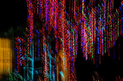 colorful christmas streaks abstract christmas lights