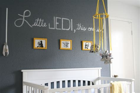 Little Jedi This One Is! Star Wars Nursery Complete With A