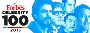 2015 Celebrity 100 - Forbes India Magazine