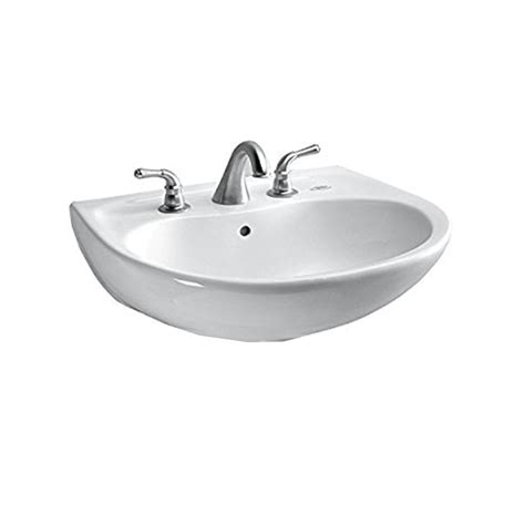 toto wall mount sink toto prominence 26 in wall mount bathroom sink with