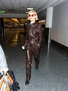 Cate Blanchett in Belstaff at LAX | Tom + Lorenzo