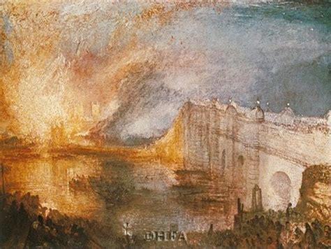 burning   houses  parliament fine art print  jm