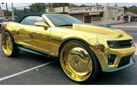 pictures ostentatious gold chrome luxury sports cars daily urban culture