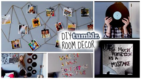 diy tumblr inspired room decor cute cheap make your room look tumblr youtube