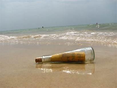Bottle Message Water Found