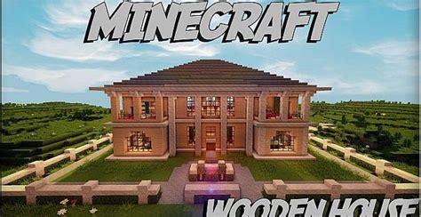 Minecraft Wooden House ? Minecraft House Design