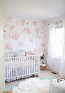 This Feminine And Floral Nursery Is A New Mama U0026 39 S Dream