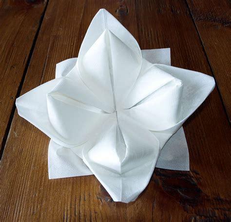 pliage serviette papier facile pliage facile serviette papier