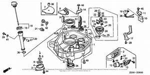 Honda Engines Gxv340 Dap5 Engine  Jpn  Vin  Gj02