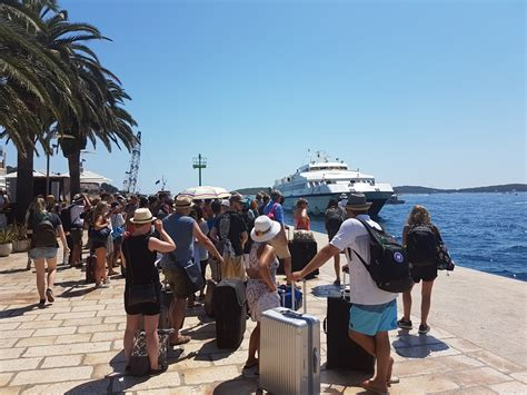 Catamaran Ferry Croatia by Island Hvar Guide With Ferry And Catamaran Timetables And