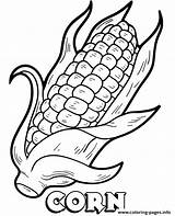 Coloring Corn Pages Cob Printable Vegetable Print Sheet Vegetables Topcoloringpages Info Template Popular sketch template
