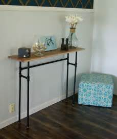 Narrow Sofa Table Diy by Hallway Furniture Simple Diy Narrow Table For Hallway