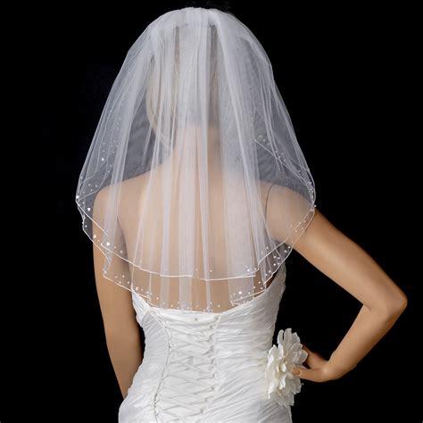 Pearl And Sequin Flower Girl Veil Elegant Bridal Hair