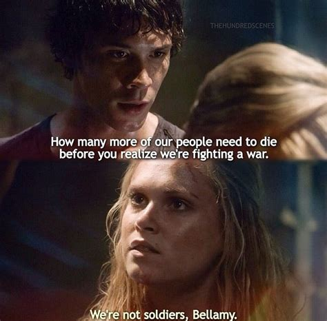 The 100 Memes - the 100 bellamy blake quotes quotesgram