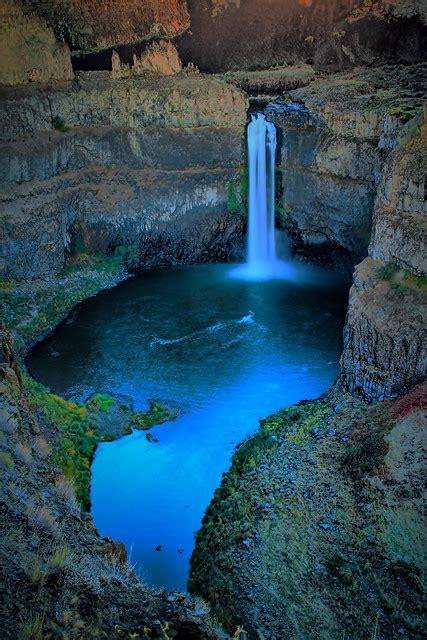 washington state palouse waterfall park waterfalls places wa falls visit flickr twilight water most usa seattle spring nature states go