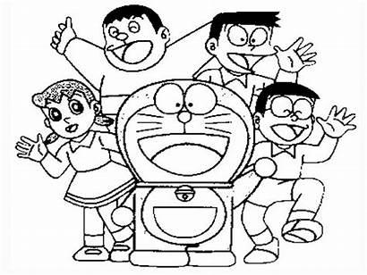 Doraemon Drawing Colour Colours Teahub Io