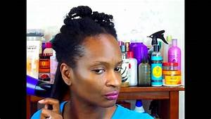 THE BEST WAY TO BLOW DRY NATURAL HAIR YouTube
