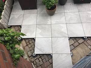 Feinsteinzeug Terrassenplatten 2 Cm : die besten 25 terrassenplatten 2cm ideen auf pinterest ~ Michelbontemps.com Haus und Dekorationen