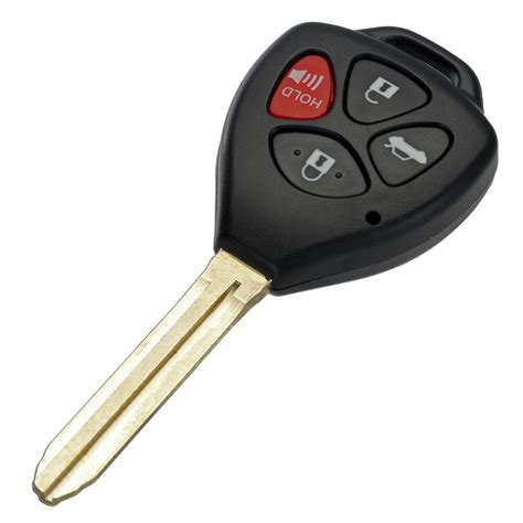 New Button Remote Key Shell Case Fob For Toyota Corolla