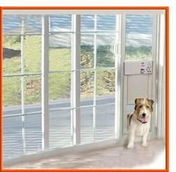 power pet electronic pet door for sliding glass patio doors