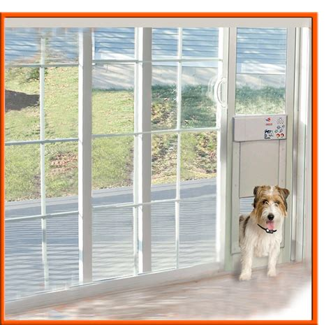 electronic patio pet door power pet electronic pet door for sliding glass patio doors