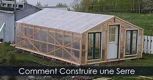 Faire Sa Serre En Polycarbonate : construire une serre en bois serre recouverte de plastique ~ Premium-room.com Idées de Décoration