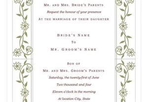 wedding invite templates wedding invitation wording wedding invite template excel