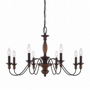 Cascadia lighting holbrook in light tuscan brown