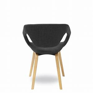 Chaise Bois Design : chaise design scandinave bois et tissu danwood soft drawer ~ Teatrodelosmanantiales.com Idées de Décoration