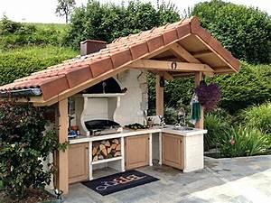 Cuisine D Ete : cuisine d ete cuisine d cuisine d construire cuisine ete ~ Melissatoandfro.com Idées de Décoration