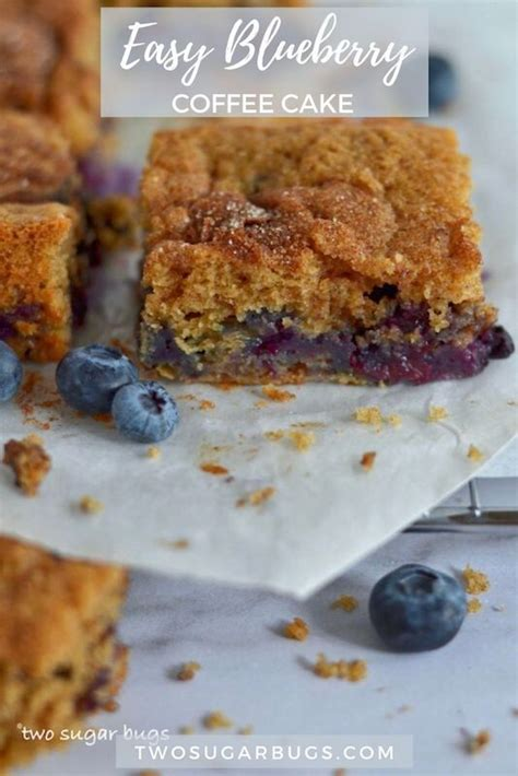 Blueberry coffee cake is such an ideal coffee companion for its perfect tango of sweetness and sourness. Easy Blueberry Coffee Cake | Recipe in 2020 | Coffee cake recipes, Blueberry coffee cake recipe ...