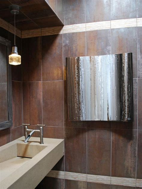 chocolate brown bathroom tiles ideas  pictures
