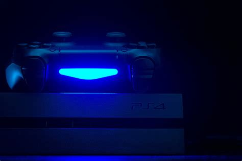 ps4 blue light of ps4 blue light flickr photo