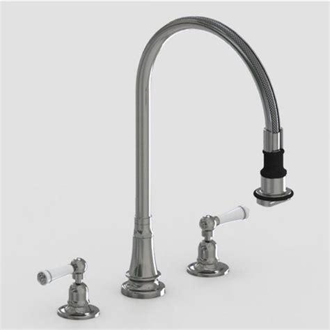 Steam Valve Original Three Hole Deck Mount Kitchen Faucets