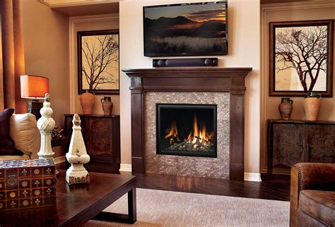 marble fireplace surround and wooden white mantel with lucite table and zebra gas fireplace photo gallery mendota hearth