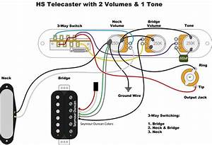 Strat Wiring Diagram 1 Volume 2 Tones