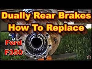 Ford F350 Super Duty Powerstroke Dually Rear Brake