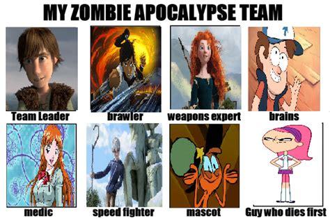 Zombie Team Meme - zombie apocalypse survival kit lookup beforebuying