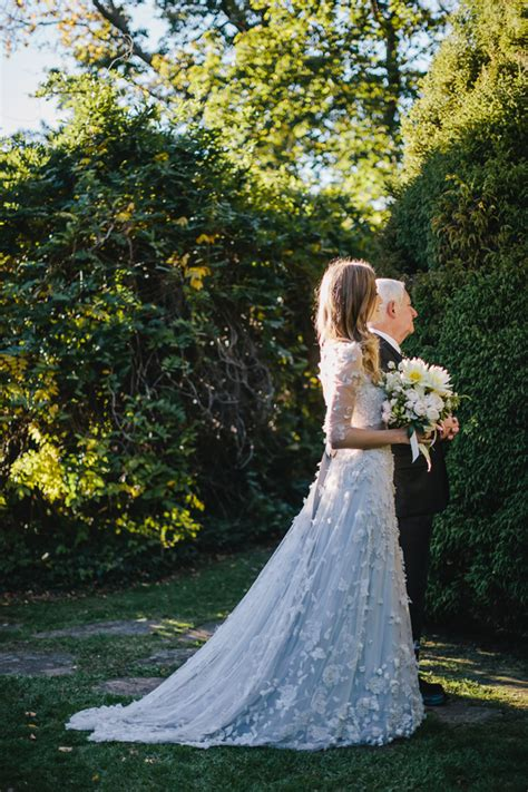 romantic outdoor fall wedding once wed