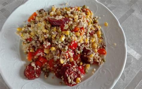 recette cuisine etudiant recette boulgour chorizo aux légumes économique gt cuisine
