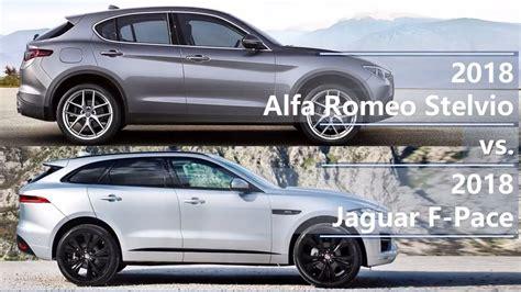 alfa romeo stelvio   jaguar  pace technical