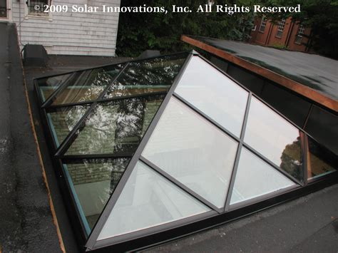 solar innovations  completes unique skylight